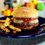Delicious Pepperoni Pizza Burgers Recipe