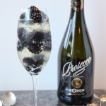 Celebrate Everyday: Prosecco Jello and Blackberries Cocktail Recipe