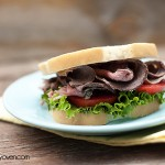 Homemade Deli Style Roast Beef Sandwich Recipe