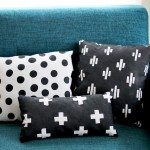 DIY Weekend Craft: Easy Hand Printed Pillows