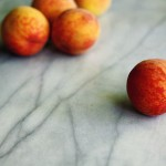 Holiday Peaches Soaked In Vanilla Wine Recipe