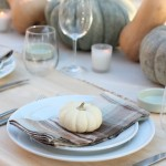 Decorating your Thanksgiving Table with Soft Color Hues