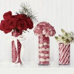 Festive Holiday Wedding Centerpiece Ideas