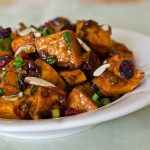 Holiday Roasted Sweet Potato Salad with Chutney Vinaigrette Recipe