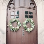 How to Make DIY Autumn Wedding Cermemony Wreaths