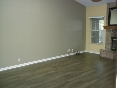 wood installed bare room HomeAdvisor