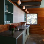 House Tours: Wood-Wrapped and Warm Modern Interiors