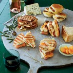 New Year's Entertaining: Wine & Grilled Cheese Bar Idea
