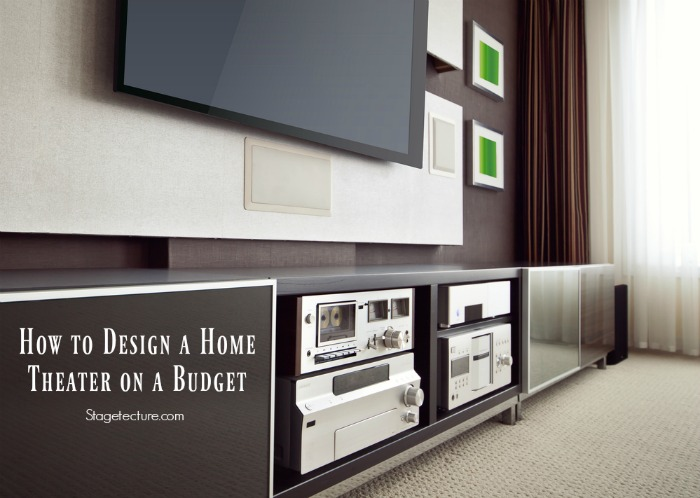 How to build a home theater on a budget for How to build a custom home on a budget