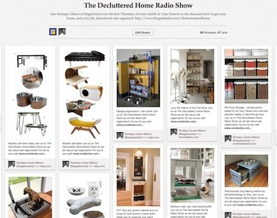 I Host 'The Decluttered Room Radio Show – Pet Owner Tips