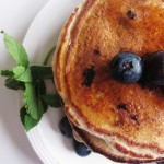 Perfect Sunday Breakfast: Whole Wheat Blueberry Pancakes