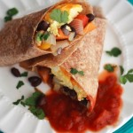 Sunday Southwestern Breakfast Burritos Recipe