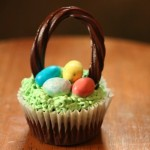 Simple Easter Basket Cupcakes Recipe
