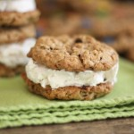 Classic Oatmeal Cookie Ice Cream Sandwiches Recipe