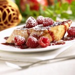 Valentine's Raspberry Cheesecake Stuffed French Toast Recipe