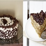 Coffee and Vanilla Bean Layered Cake Recipe