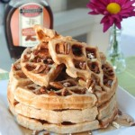 Easter Brunch Favorite: Pecan Waffles &#038; Banana Syrup Recipe