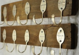 DIY Craft Idea: Repurposing Vintage Spoons into Hooks