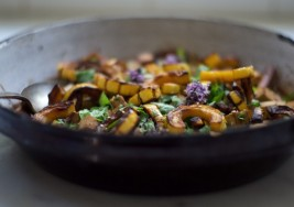 Asian-Inspired Miso Sesame Winter Squash Recipe
