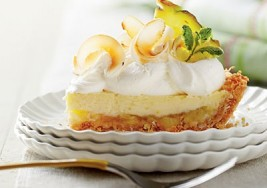 Spring Piña Colada Icebox Pie Recipe