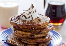 Dessert for Breakfast: Vegan Tiramisu Pancakes with Whipped Coconut Cream Recipe