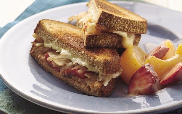 Vegan Lunch: Tofu Reuben Sandwich Recipe