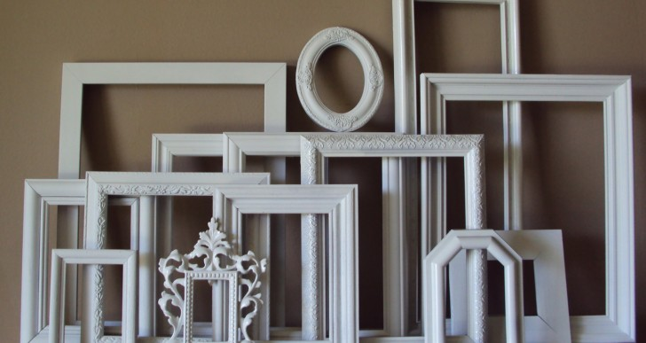 Wall of Frame: D.I.Y. Ideas for Picture Frame Wall Art