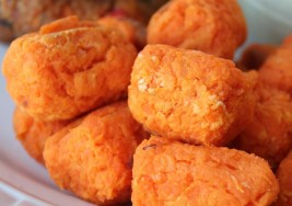 Kids' Vegan Snack Recipe: Sweet Potato Tater Tots