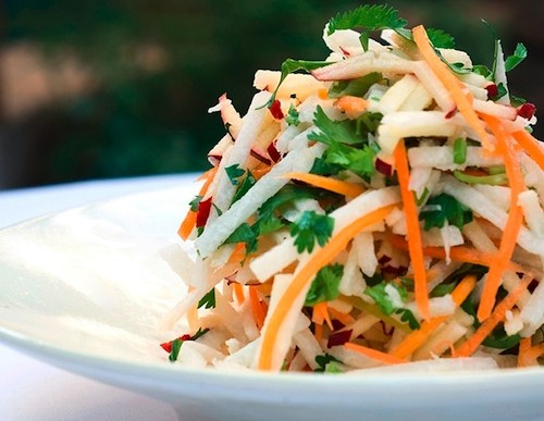 Refreshing Sweet and Spicy Jicama Salad Recipe