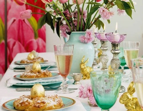 Creative brunch table setting ideas for mother s day for Table 52 mother s day brunch