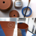 DIY Painting Ideas for Gardening Terra Cotta Pots