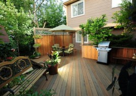 Guest Blogger: How to Stain Your Deck this Spring