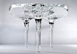Design: Rippling Water $160K Dining Table By Zaha Hadid