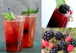 Summer Blackberry Crush & Watermelon Cocktail Recipes