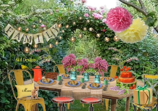 Olioboard Inspiration – A Garden-Inspired Mother's Day Brunch