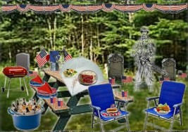 Olioboard Inspiration – Patriotic Memorial Day Picnic Celebration
