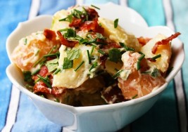 Memorial Day Side Dish: Creamy Bacon Potato Salad Recipe