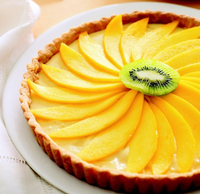 Spring-Inspired Mango Tart Recipe