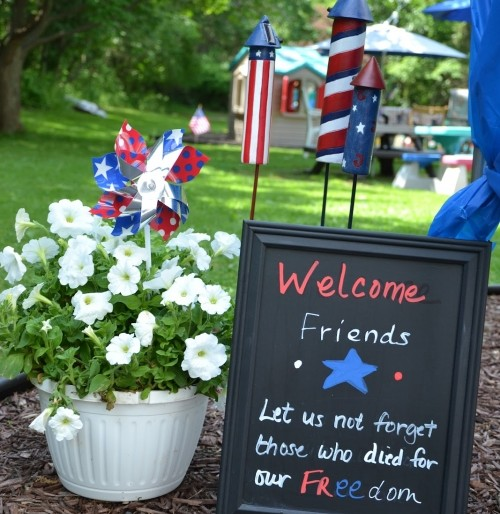 Planning a Patriotic Themed Memorial Day Party