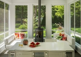 Brightening your Living Room with a Sunroom Addition