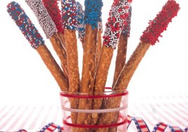 4th of July Favorite: Summer Patriotic Pretzel Treats Recipe