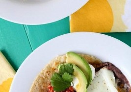 Mexican Breakfast: Huevos Rancheros & Fresh Pico de Gallo Recipe