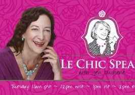 Excited to be a Guest on Le Chic Speak Radio 6/4 – 11am PST