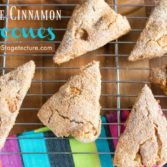 Scones recipe apple cinnamon idea