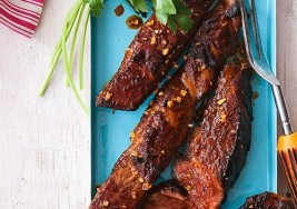 Father's Day Favorite: Apricot Pineapple Sweet Ribs Recipe
