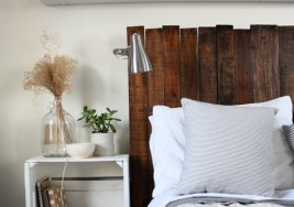 DIY Sat. #150 – Making a Reclaimed Wood Pallet Headboard (Video)