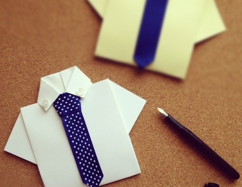 DIY Sat. #151 Dad's Shirt Craft Card for Father's Day (Video)