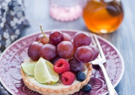 Fresh Apricot & Summer Fruit Tarts Recipe