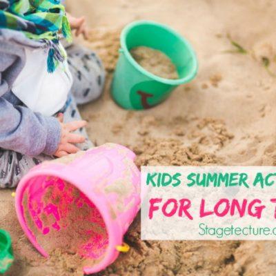Summer Kids Entertainment Tips for Long Trips