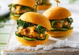 Summer Spicy Shrimp Slider Recipe